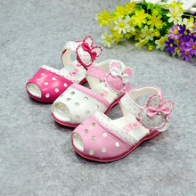 ts8151 cute design leather baby summer shoes 2015