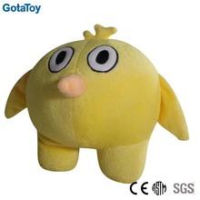 Custom plush yellow chicken toys