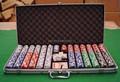 1000 unid ABS chip de póquer de plástico