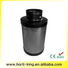 Hydroponic growing activated carbon filter odor eliminator