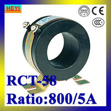 RCT-58 800/5A RCT current transformer low voltage high accuracy Troridal transformers