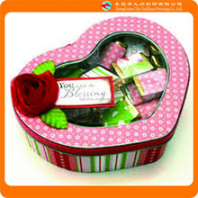 Wholesale recycled empty birthday food packing chocolate window candy boxes packaging