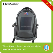 Factory Wholesale Lightweight Flexible Solar Charger Backpack, Solar Backpack