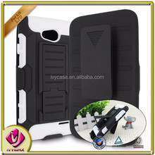 Guangzhou factory cheap price dual layer combo holster case for Lg L70/D320