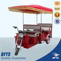 New model e rickshaw,48V 850W motor electric tricycle