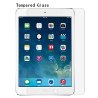 Top Quanlity Retail packing 0.33mm 2.5D 9H Tempered Glass screen protector for ipad mini 1/2