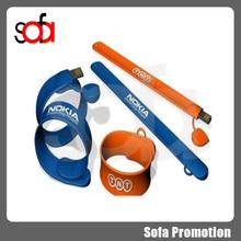 China alibaba best selling bracelet usb flash drive with logo