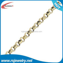RS-7059 Factory outlet jewelry findings, 2mm jewelry cross chain gold chain link