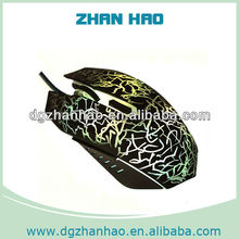 Alibaba Top selling 2400DPI Wired gaming mouse