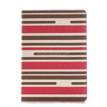 Brand new style for ipad air pu leather flip case