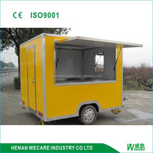 factory price. snack customized fast mobile concession food vending van
