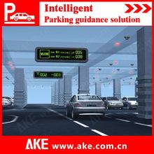 2014 Intelligent ultrasonic sensors parking guidance system for indoor parking lots