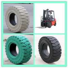 Hot sale non-marking pneumatic solid tyre 23x10-12, forklift drive wheels