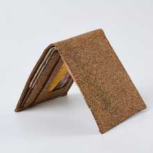 Brand new cork wallet with high quality