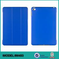 Folio ultra thin smart leather cover case for iPad mini 4 7.9 inch