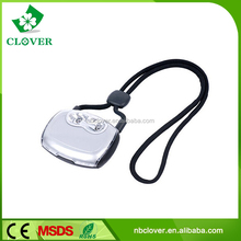 Plastic for promotion hands-free hanging 2 led book reading light