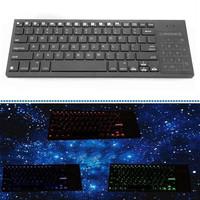 Bluetooth keyborad with backlight multimedia touch bluetooth keyboard