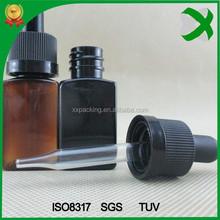 20ml eliquid bottle plastic square eliquid bottle e-liquid dropper bottle