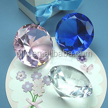 Wholesale Crystal Diamond Paperweights For Business Cooperation Souvenirs