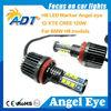 For BMW angel eyes USA CR led headlights, canbus error free universal CCFL COB RGB SMD ring angel eyes auto car accessories
