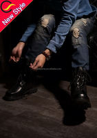 wholesale elastic bottom high waist jeans west