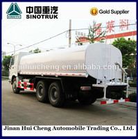 sinotruk howo 10 wheels 20cbm water delivery truck