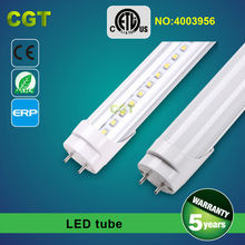 IP67 Aluminum indoors/outdoors/industrial LED tube light T8 50,000hours 3years warranty CE ROHS ETL DLC Samples available