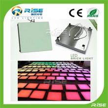 ip65 rgb dmx led glass brick bar 24v