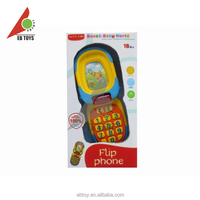 Custom promotion educational toy funny kid toy mobile phone for children
