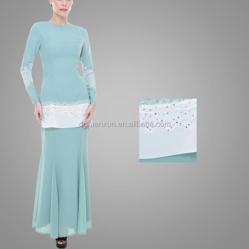 New Design Baju Kurung Kebaya Pink Elegant High Quality Baju Kurung Peplum Malaysia Dubai Clothing Abaya Baju For Women (6).jpg