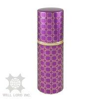 WL French taste Sweet pink Metal Cosmetics Perfume Packaging Bottle