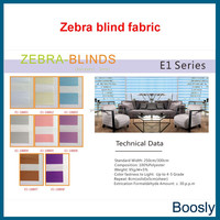 Stripe zebra blind fabric