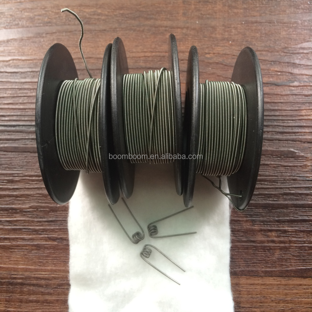 2015 Cheapest Dual & Single Tube Clapton Coil Wire For Electric ...