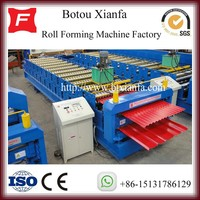 European Style Double Layer Roofing Tile Forming Machine