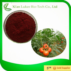 2015 new arrival tomato lycopene cosmetic raw material