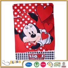 Microfiber 100%Polyester Fleece Sheep Printed Throw/Blanket digital print blanket frozen baby blanket