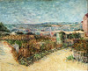Landscape art Vegetable Gardens painting by Van Gogh