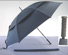 China large size golf umbrella promotional golf