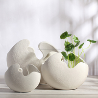 Wholesale hand carved jarrones ceramica