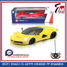 nuevos juguetes del rc de simulación de plástico de juguete del coche eléctrico del rc coche 1 14 escala de juguete