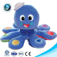 Cute baby kids toy plush emoji pillow cushion fashion stuffed plush octopus toy cheap pp cotton emoji pillow octopus plush toy