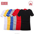 Nuevo o del modelo- cuello cuello de algodón fino normal camisetas al por mayor de china