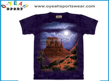 Dry fit custom full color heat printed t-shirt with high quality