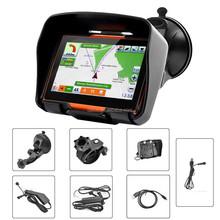 "4.3"" Waterproof 4GB &Bluetoothotorcycle GPS Navigation System"