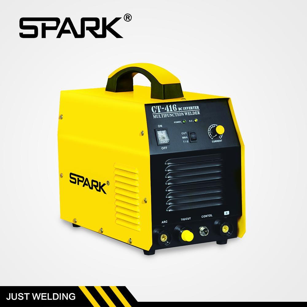 Alta calidad Spark marca micro plasma soldador máquina de soldadura de plasma cortador 3 en 1 hecho en China