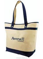 Printed cotton bag/promotional bag/full color custom printed canvas tote bag
