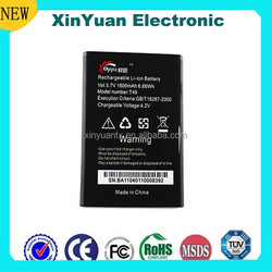 2015 high energy mobile phone 1800mah battery rechargeable battery for Symphony T49