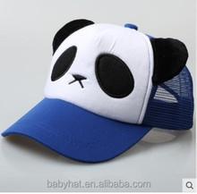 kids infant toddler panda baseball cap trucker hat mesh hat baby guangzhou