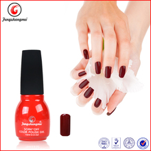 Fengshangmei wine red colour changing nails polish