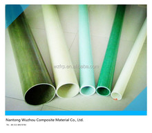 Light weight and good strength pultruded fiberglass round tubes